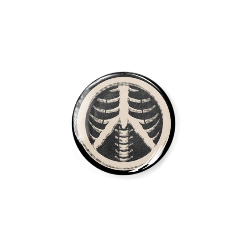 INNER PEACE SYMBOL Accessories Button by Wilfully Weird