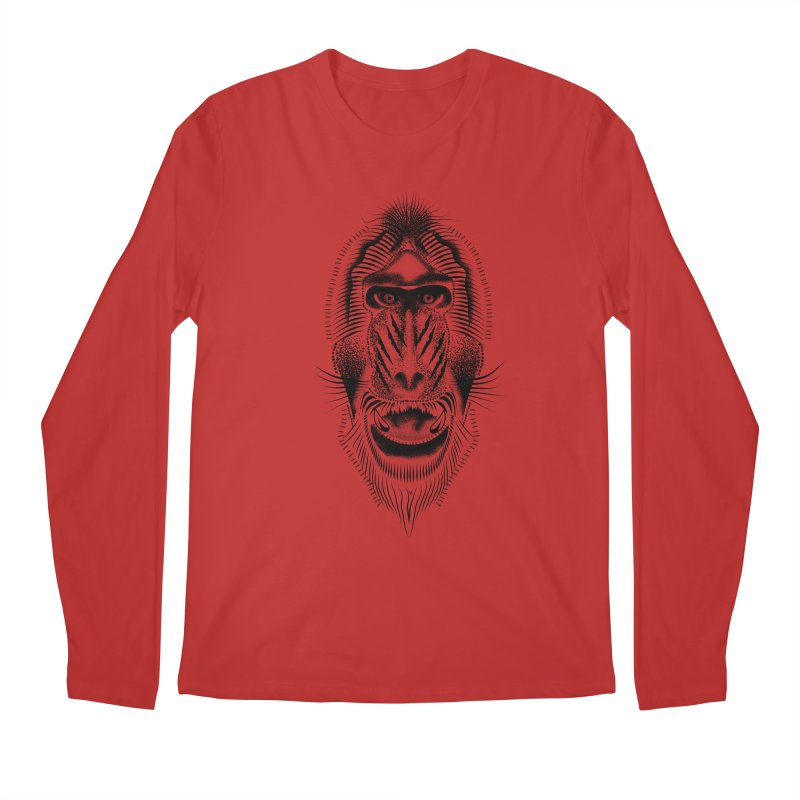 Mr Mandrill Men's Longsleeve T-Shirt by will.i.aint's Artist Shop