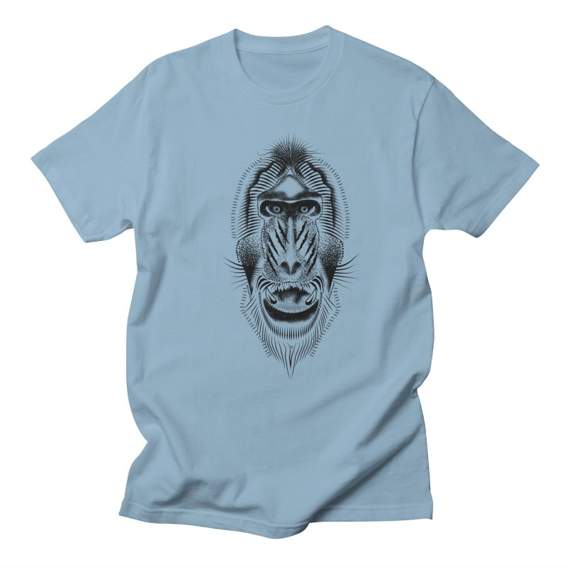 Mr Mandrill Men's Regular T-Shirt by will.i.aint's Artist Shop