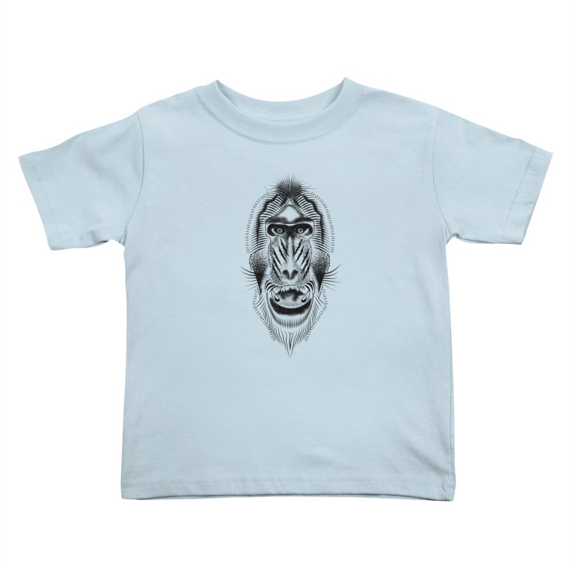 Mr Mandrill Kids Toddler T-Shirt by will.i.aint's Artist Shop