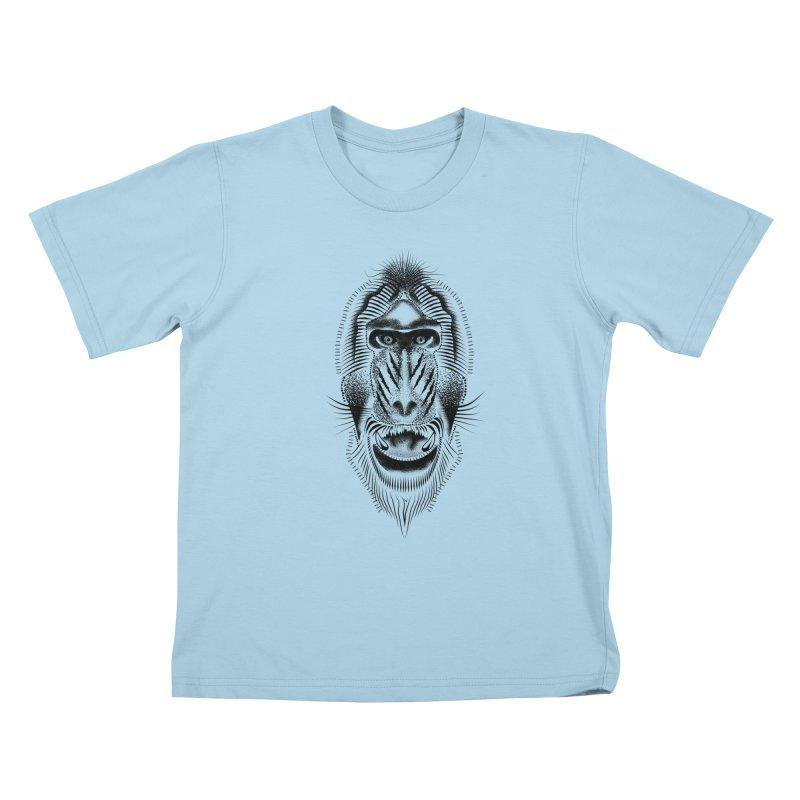 Mr Mandrill Kids T-Shirt by will.i.aint's Artist Shop