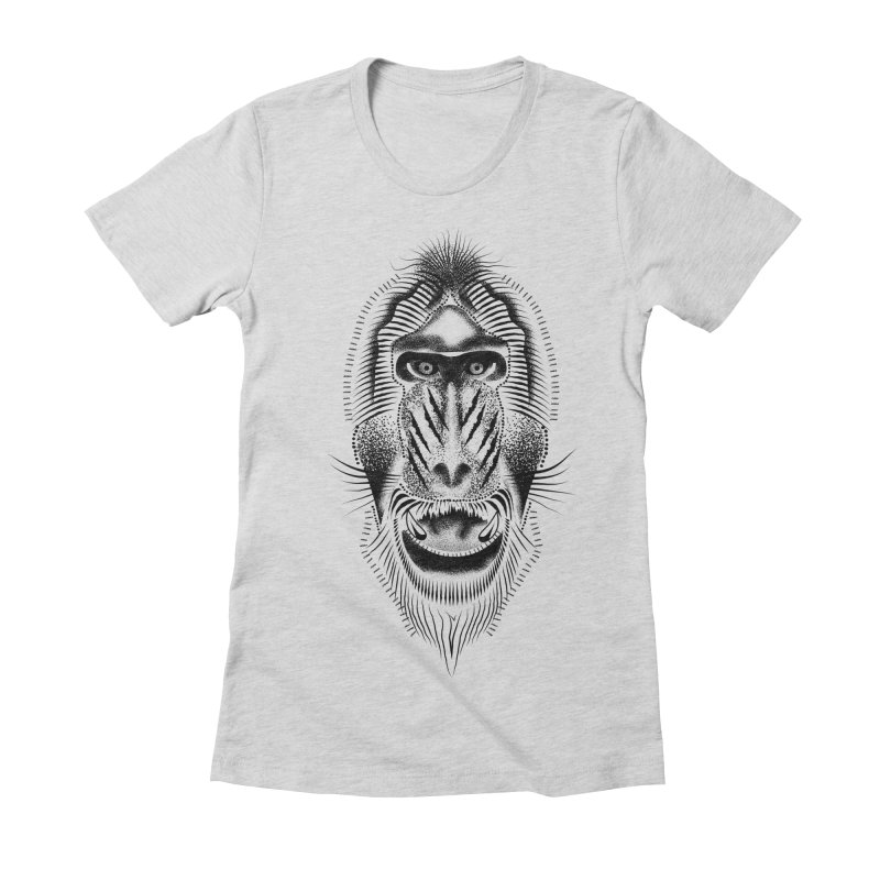 Mr Mandrill Women's Fitted T-Shirt by will.i.aint's Artist Shop