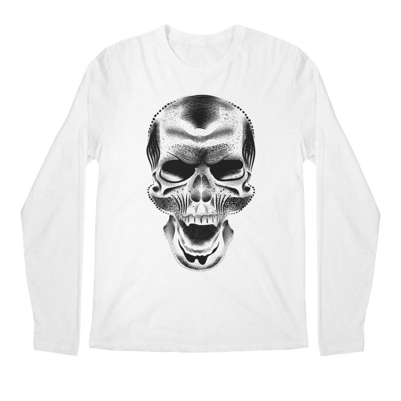 Bones Men's Regular Longsleeve T-Shirt by will.i.aint's Artist Shop