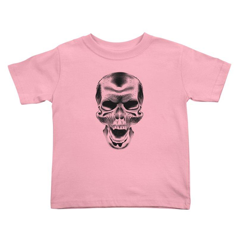 Bones Kids Toddler T-Shirt by will.i.aint's Artist Shop