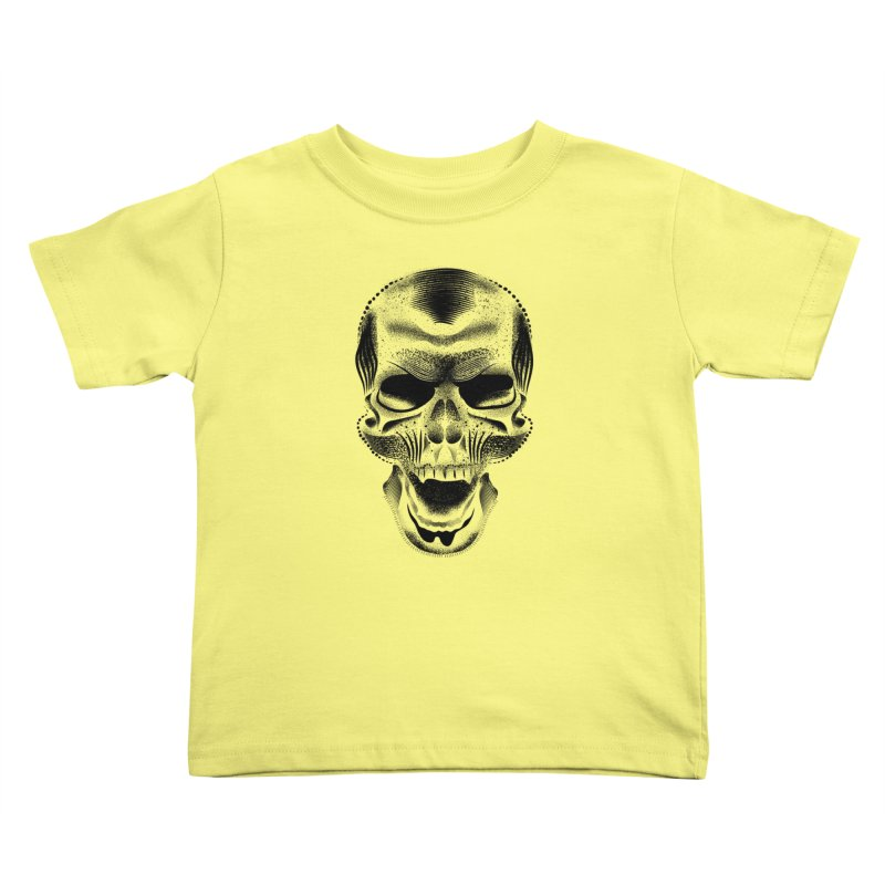 Bones Kids Toddler T-Shirt by will.i.aint's Artist Shop