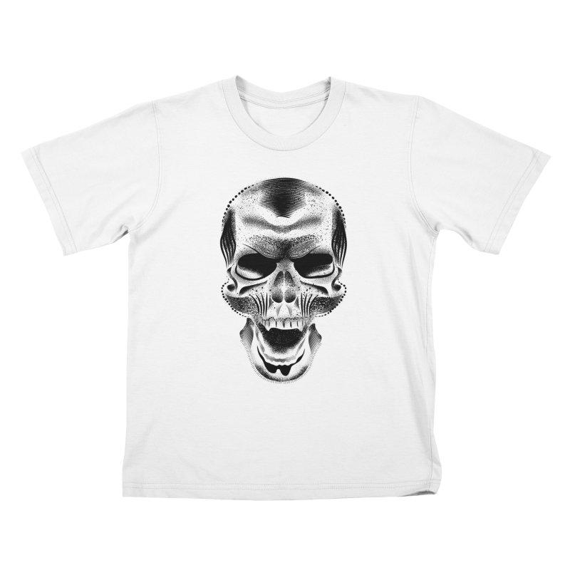 Bones Kids T-Shirt by will.i.aint's Artist Shop