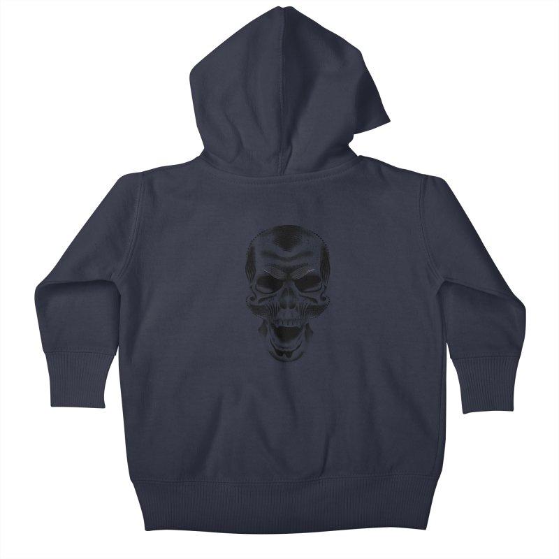 Bones Kids Baby Zip-Up Hoody by will.i.aint's Artist Shop