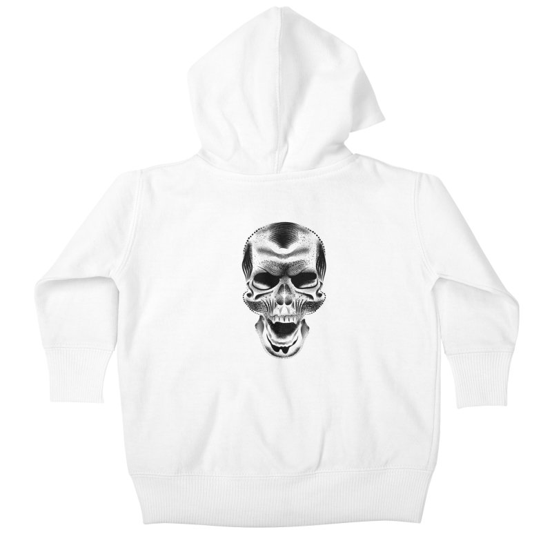 Bones Kids Baby Zip-Up Hoody by will.i.aint's Artist Shop