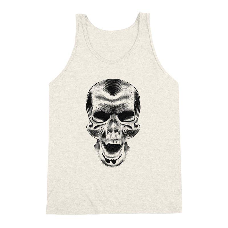 Bones Men's Triblend Tank by will.i.aint's Artist Shop