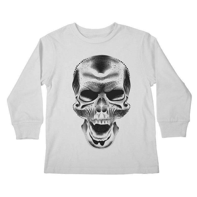 Bones Kids Longsleeve T-Shirt by will.i.aint's Artist Shop