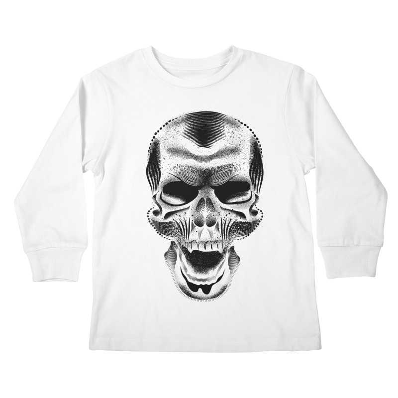 Bones Kids Longsleeve T-Shirt by will.i.aint's Artist Shop