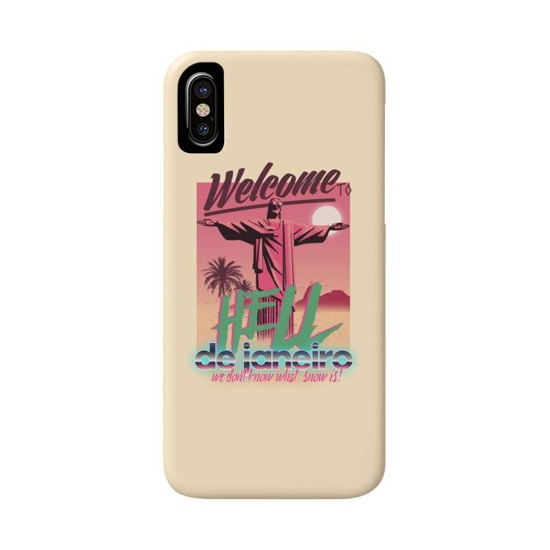 Welcome to hell de janeiro Accessories Phone Case by Willian Richard's Artist Shop