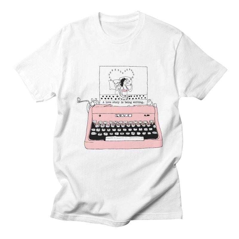 Love Story Men's T-Shirt by Willian Richard's Artist Shop