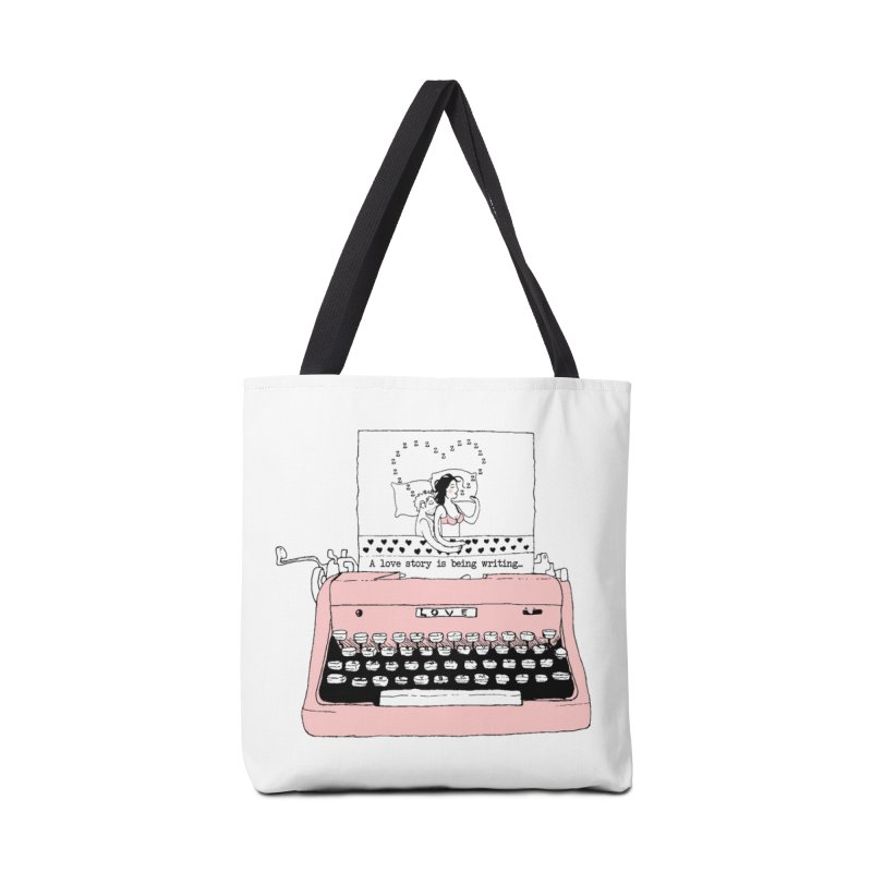 Love Story Accessories Bag by Willian Richard's Artist Shop