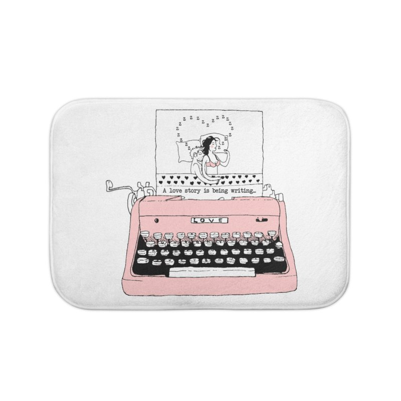 Love Story Home Bath Mat by Willian Richard's Artist Shop