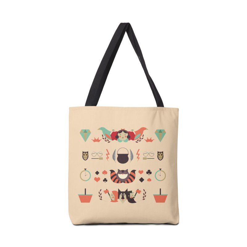 Fluffy tales Accessories Bag by Willian Richard's Artist Shop