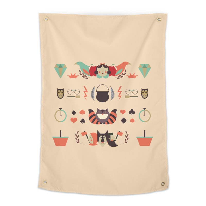 Fluffy tales Home Tapestry by Willian Richard's Artist Shop