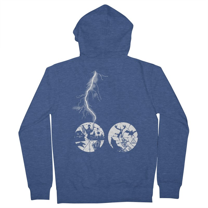 The boy who lived  Women's Zip-Up Hoody by Willian Richard's Artist Shop