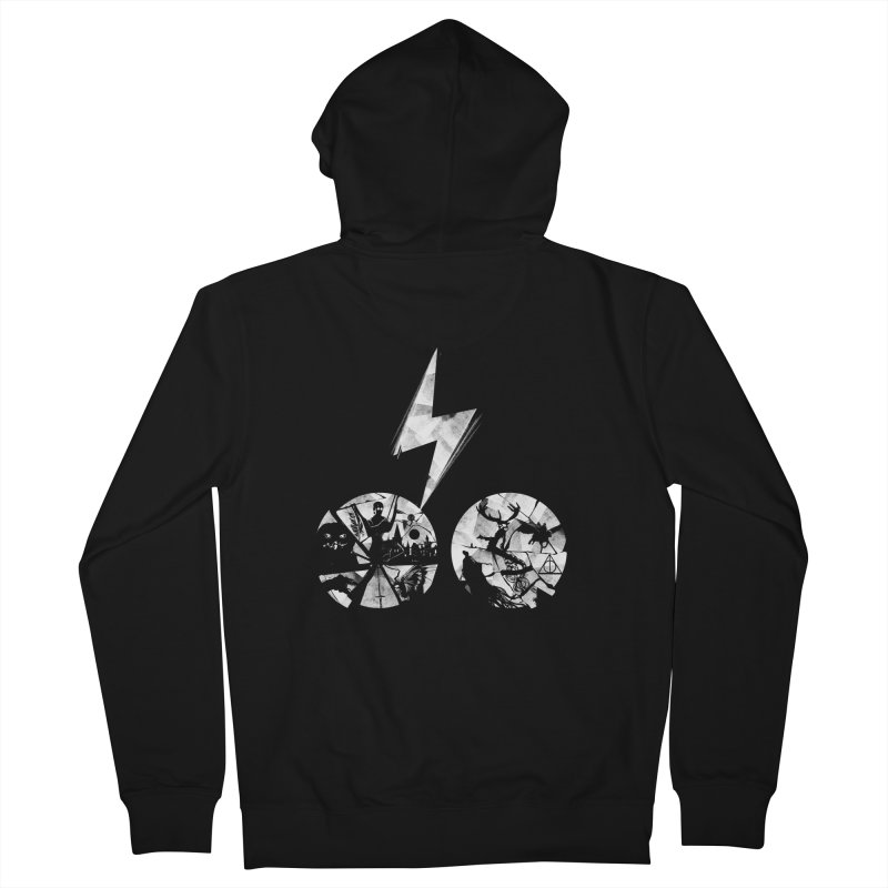 History of a boy Men's Zip-Up Hoody by Willian Richard's Artist Shop
