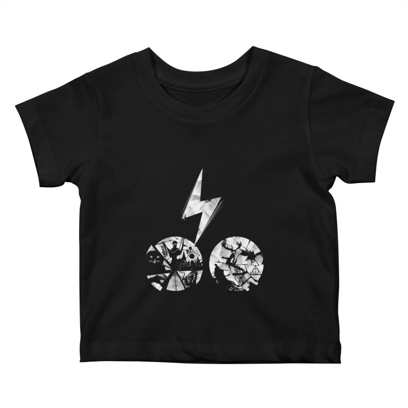 History of a boy Kids Baby T-Shirt by Willian Richard's Artist Shop