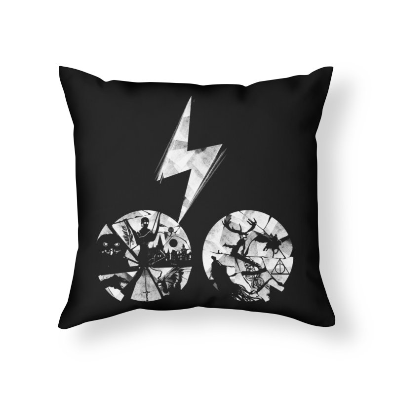 History of a boy Home Throw Pillow by Willian Richard's Artist Shop