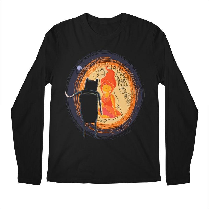 Love flame Men's Longsleeve T-Shirt by Willian Richard's Artist Shop