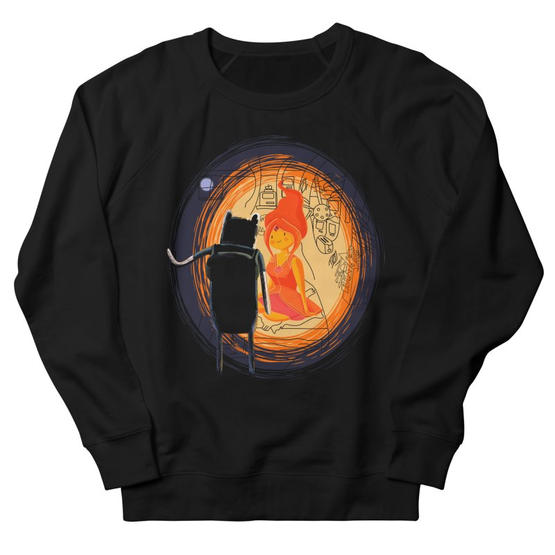 Love flame Men's Sweatshirt by Willian Richard's Artist Shop