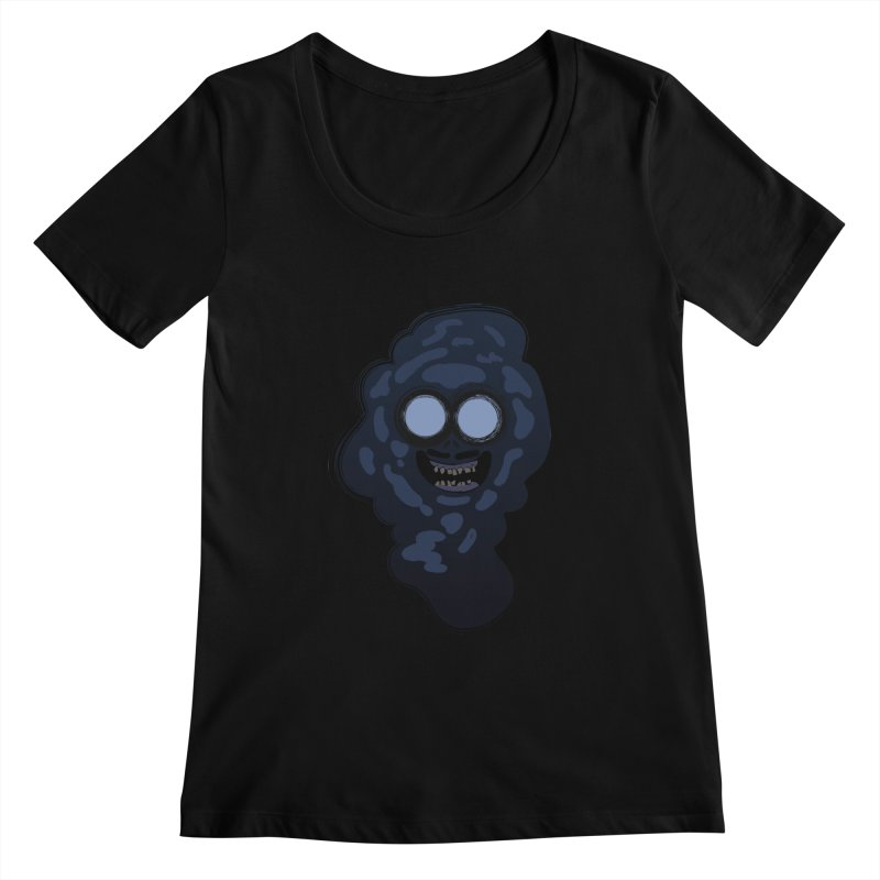 Fear of the ocean Women's Scoopneck by Willian Richard's Artist Shop