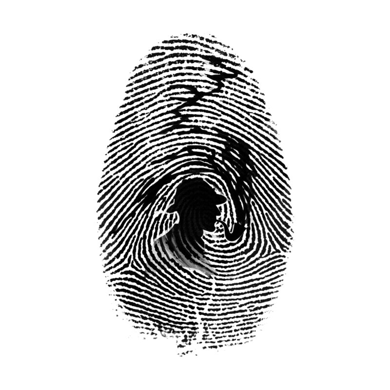 Fingerprint None  by Willian Richard's Artist Shop