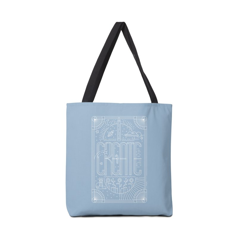 Create Accessories Tote Bag Bag by Willoughby Goods