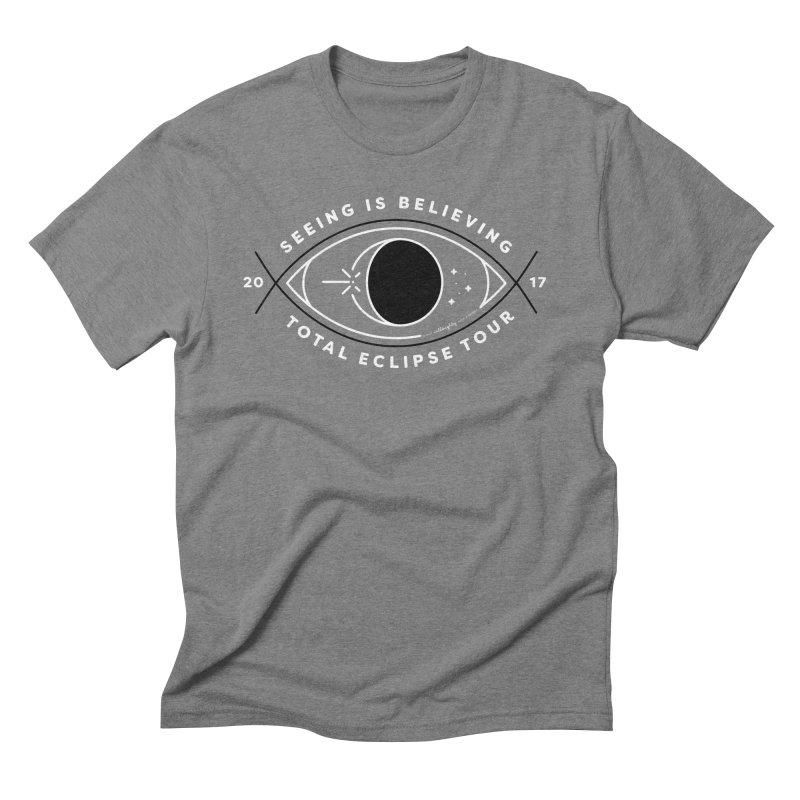 Seeing is Believing – Total Eclipse Tour Men's Triblend T-Shirt by Willoughby Goods
