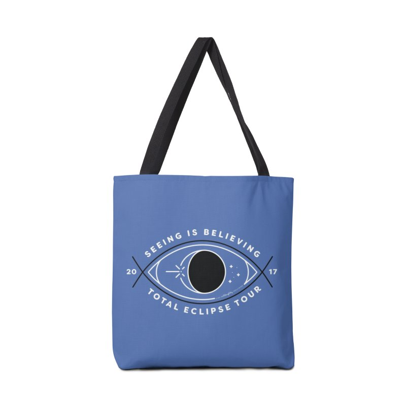 Seeing is Believing – Total Eclipse Tour Accessories Tote Bag Bag by Willoughby Goods