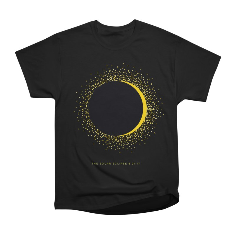 The Solar Eclipse 8.21.17 Men's Heavyweight T-Shirt by Willoughby Goods