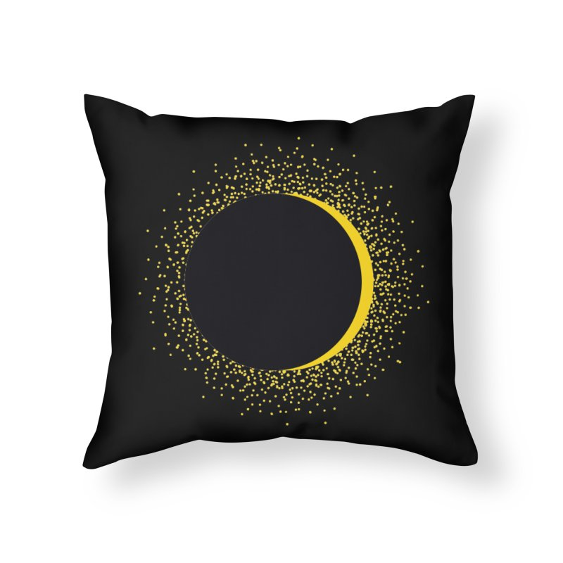 The Solar Eclipse 8.21.17 Home Throw Pillow by Willoughby Goods