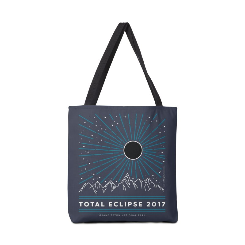 Total Eclipse 2017 – Grand Teton National Park Accessories Bag by Willoughby Goods