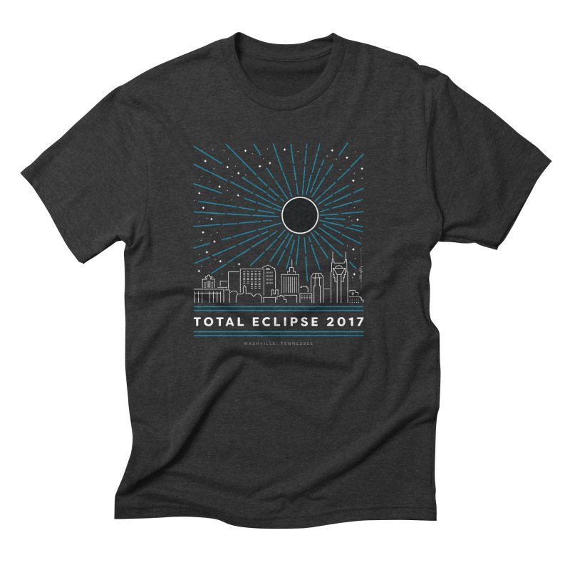 Total Eclipse 2017 – Nashville Men's T-Shirt by Willoughby Goods