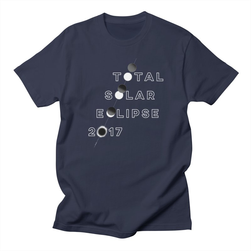 IN THE PATH OF THE ECLIPSE Men's Regular T-Shirt by Willoughby Goods