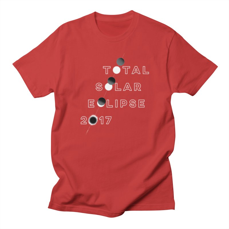 IN THE PATH OF THE ECLIPSE Men's T-shirt by Willoughby Goods