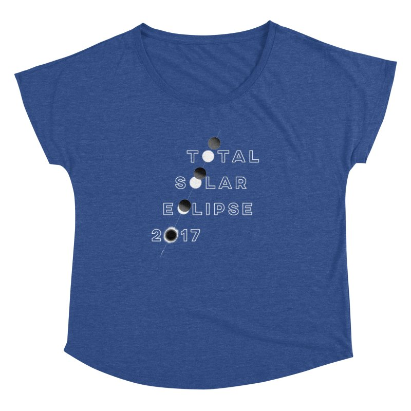 IN THE PATH OF THE ECLIPSE Women's Dolman Scoop Neck by Willoughby Goods