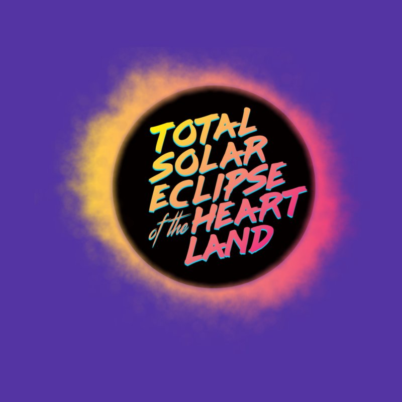 Total Eclipse of the Heartland Men's T-Shirt by Willoughby Goods