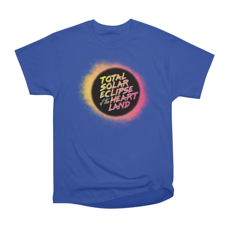 Total Eclipse of the Heartland Women's T-Shirt by Willoughby Goods