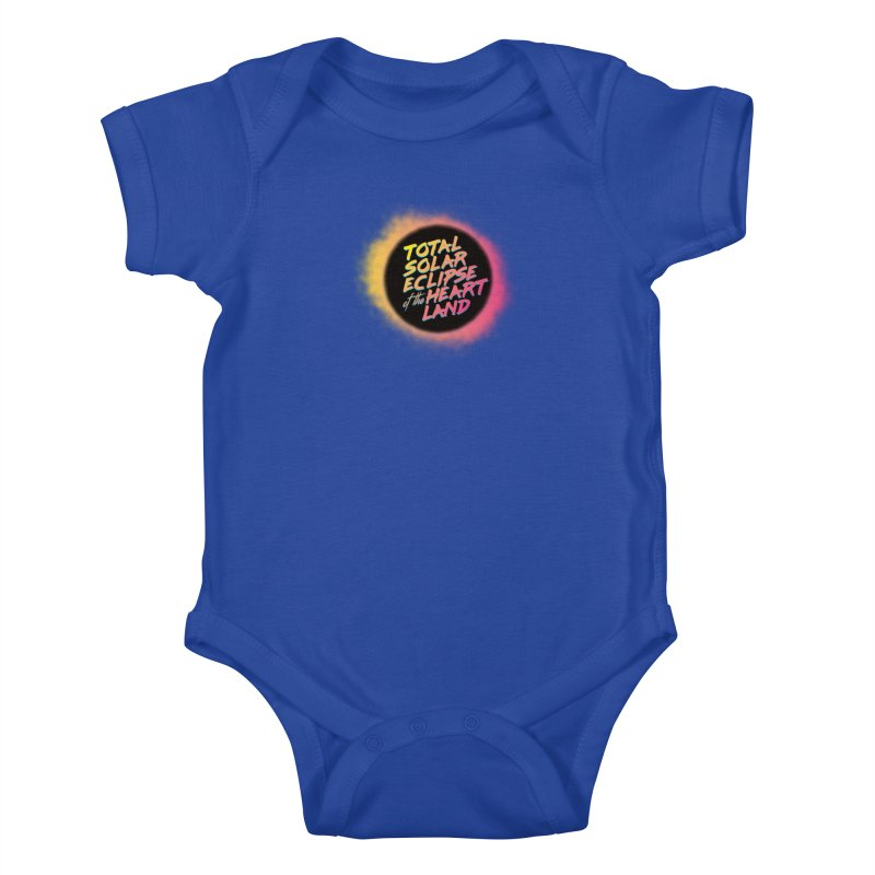 Total Eclipse of the Heartland Kids Baby Bodysuit by Willoughby Goods