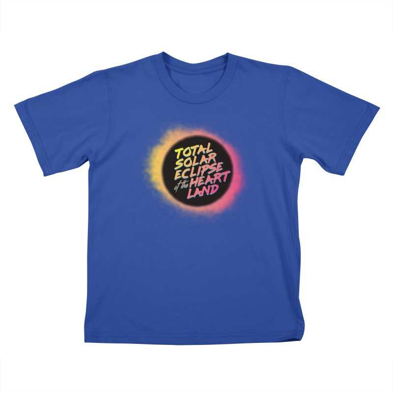 Total Eclipse of the Heartland Kids T-Shirt by Willoughby Goods