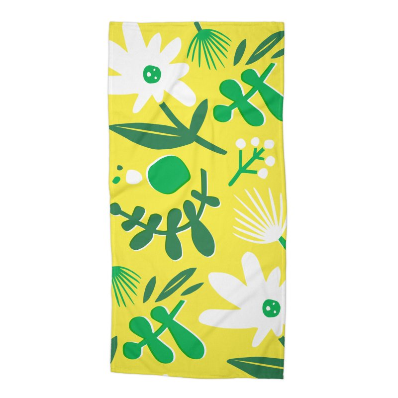 Happy, Wild & Free Accessories Beach Towel by Willoughby Goods