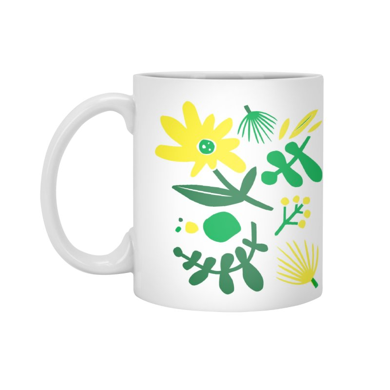 Happy, Wild & Free Accessories Mug by Willoughby Goods