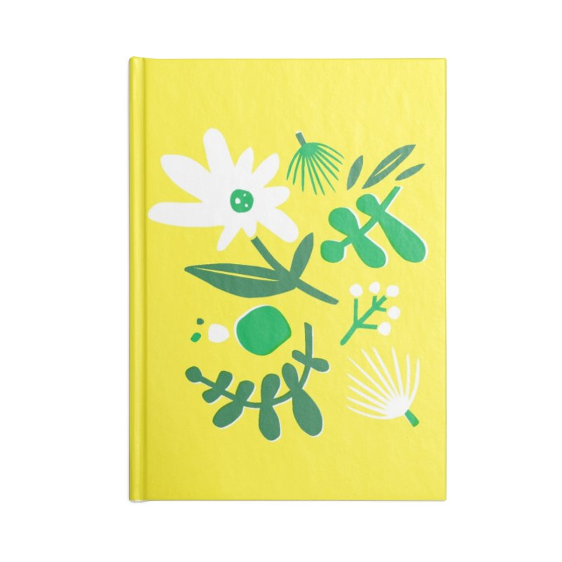 Happy, Wild & Free Accessories Lined Journal Notebook by Willoughby Goods