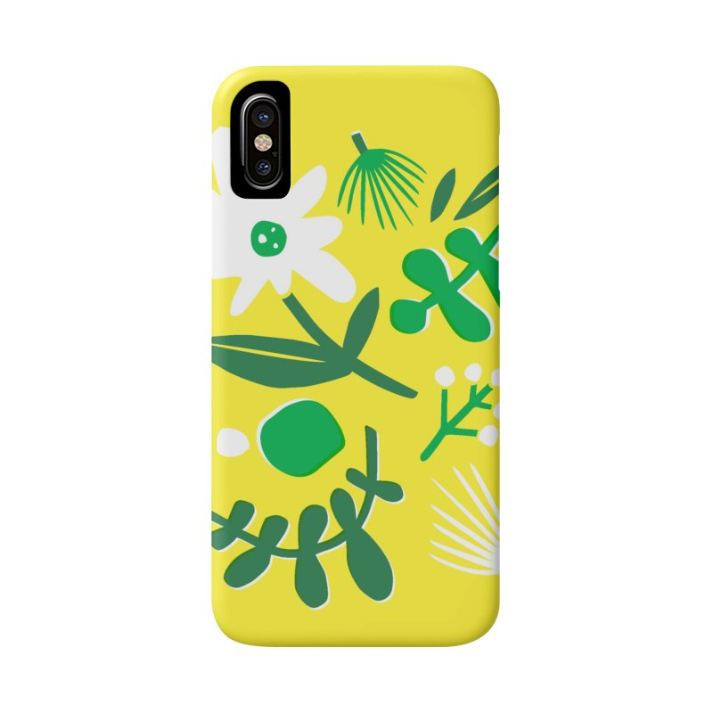 Happy, Wild & Free Accessories Phone Case by Willoughby Goods
