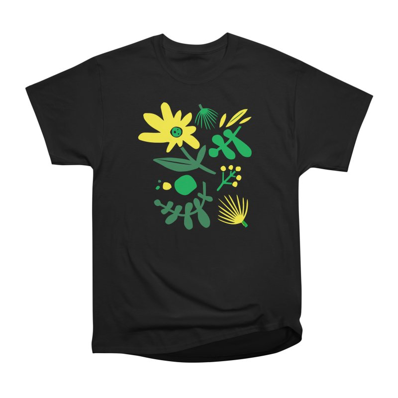 Happy, Wild & Free Women's Heavyweight Unisex T-Shirt by Willoughby Goods