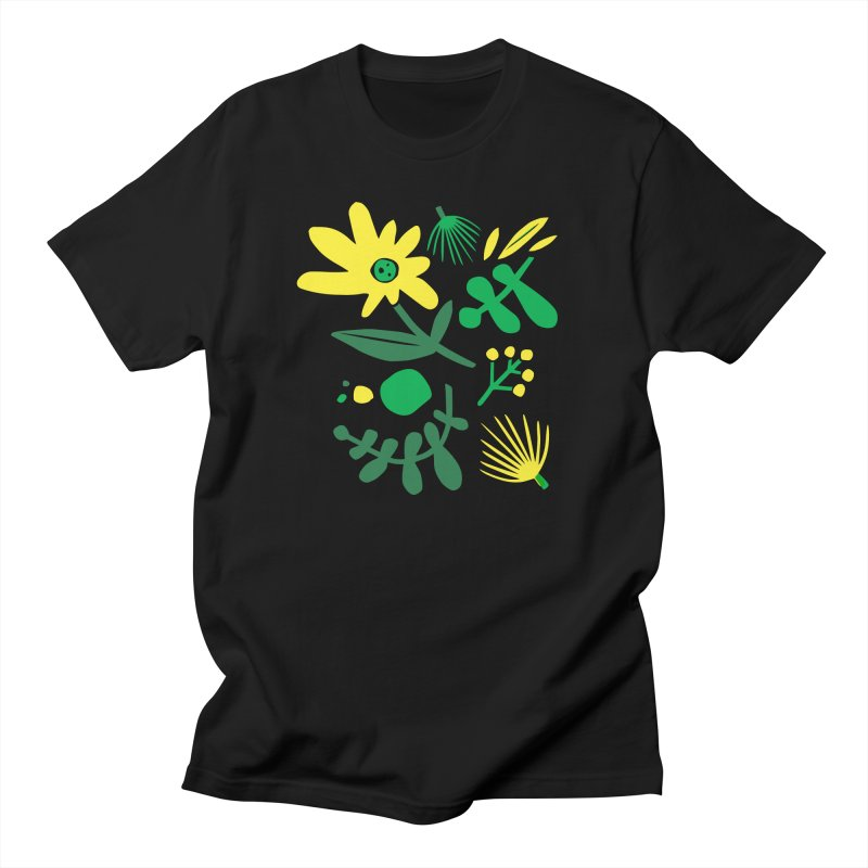 Happy, Wild & Free Women's Regular Unisex T-Shirt by Willoughby Goods