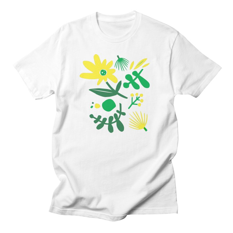 Happy, Wild & Free Men's Regular T-Shirt by Willoughby Goods